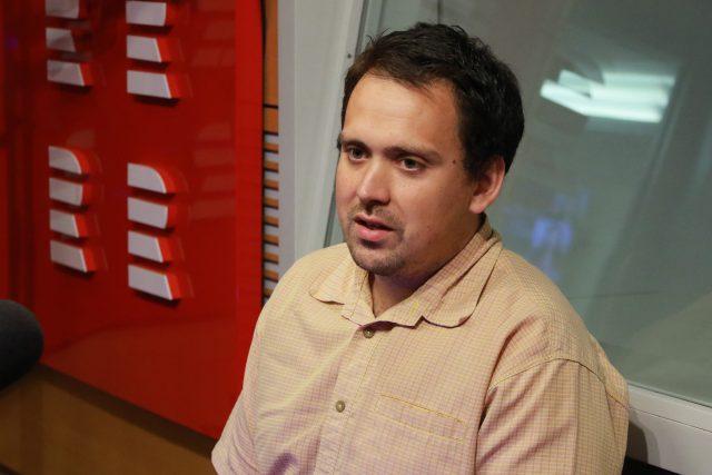 geomorfolog Filip Hrbáček