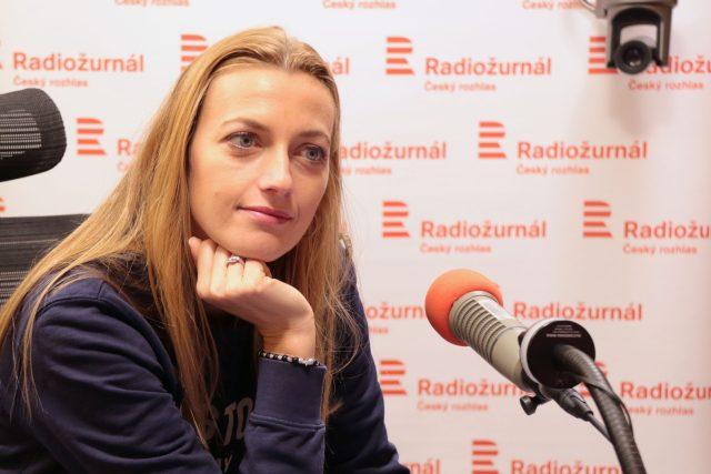 Pořád se snažíme,  abychom si to užili,  i když v porovnání s jinými olympiádami je to jiné,  popisuje tenistka | foto: Kristýna Hladíková,  Český rozhlas