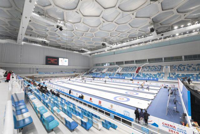 Centrum vodních sportů z letních her poslouží i během zimní olympiády v Pekingu v roce 2022