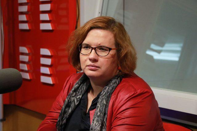 Jitka Barlová, vedoucí pražské pobočky Společnosti pro ranou péči