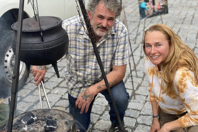 Michal Hromas a Lucie Výborná