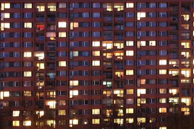 Bydlení,  panelák,  panelový dům  (ilustrační foto)   foto: Josef Vostárek,  MAFRA / Profimedia