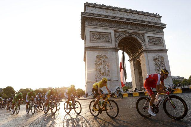 Závěrečná etapa Tour de France, Paříž
