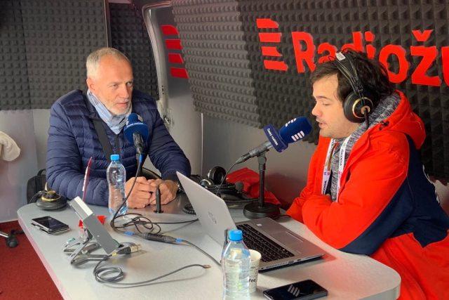 Jozef Liba ze Slovenského olympijského výboru v rozhovoru s Janem Suchanem
