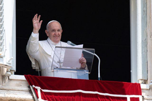 Papež František oznámil,  že pojede na Slovensko | foto: Fotobanka Profimedia