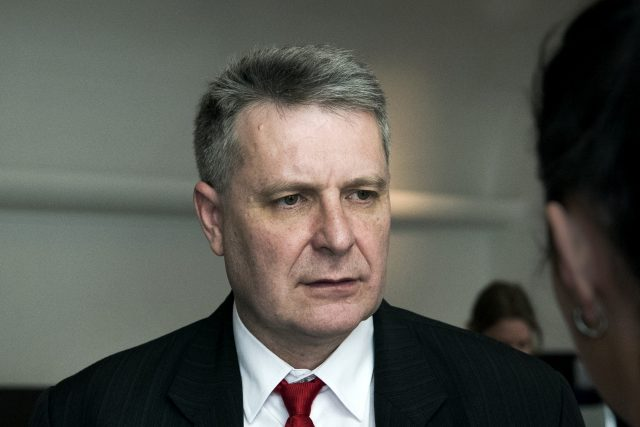 Poslanec Stanislav Grospič z KSČM