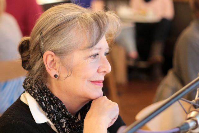 Helena Třeštíková v Radiocafé