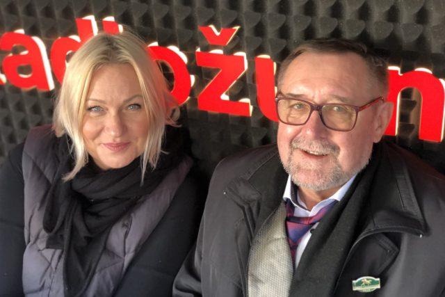 Patricie Strouhalová Václav Bruna, majitel dostihové stáje Zámrsk