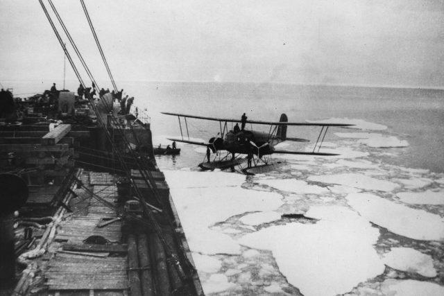 Antarktická expedice amerického polárníka admirála Byrda (1934)