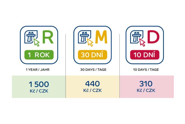 eZnámka: Elektronická dálniční známka 2021