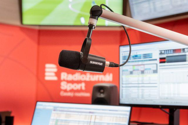 Newsroom Radiožurnál Sport | foto: Khalil Baalbaki,  Český rozhlas,  Český rozhlas