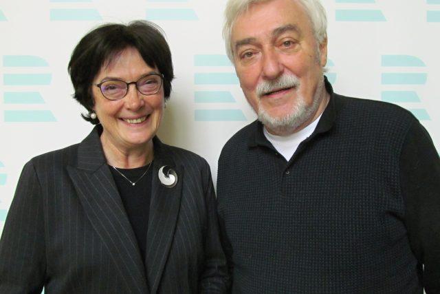 Eva Zažímalová a Jan Rosák