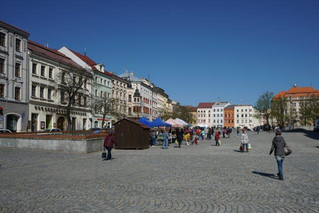 Jihlava, Masarykovo náměstí, ilustrační foto