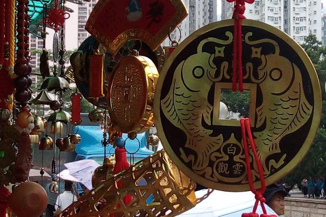 Taoistický chrám Wong Tai Sin v Hongkongu