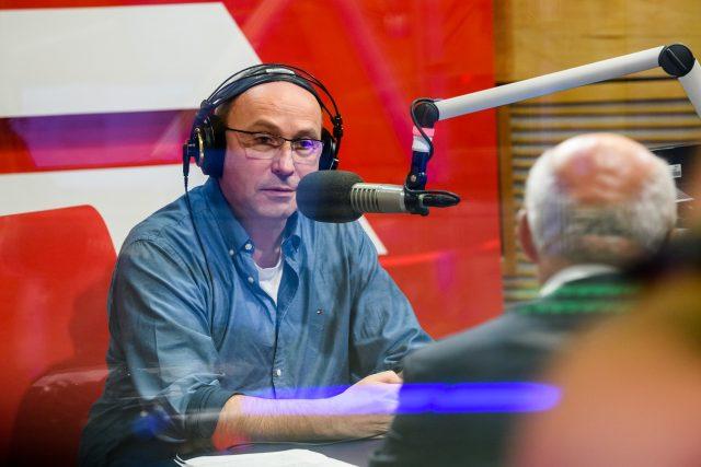 Jan Pokorný je častým moderátorem volebních debat