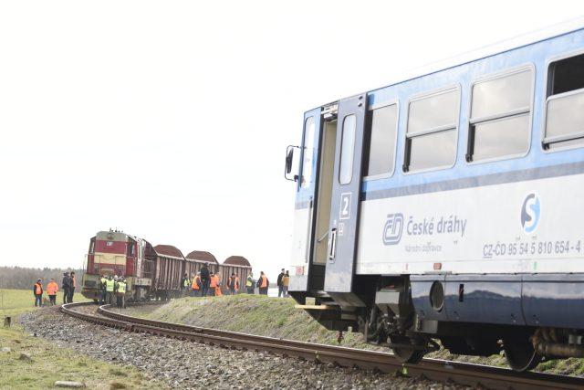 U Ronova nad Doubravou na Chrudimsku se 4. března 2019 srazil osobní vlak s manipulačním vlakem