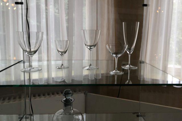 Výstava nerozbitného skla v muzeu ve Weißwasseru