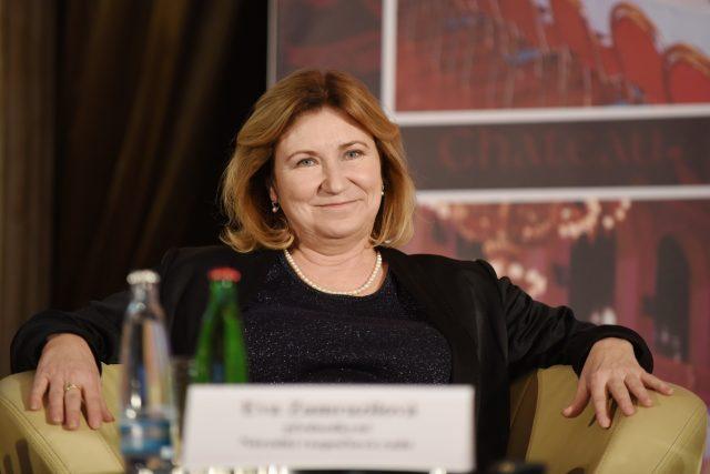 Poslechněte si celý rozhovor s předsedkyní Národní rozpočtové rady Evou Zamrazilovou | foto: Tomáš Tkáčik,  Profimedia