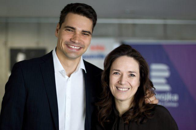 Daniel Stach a Tereza Kostková