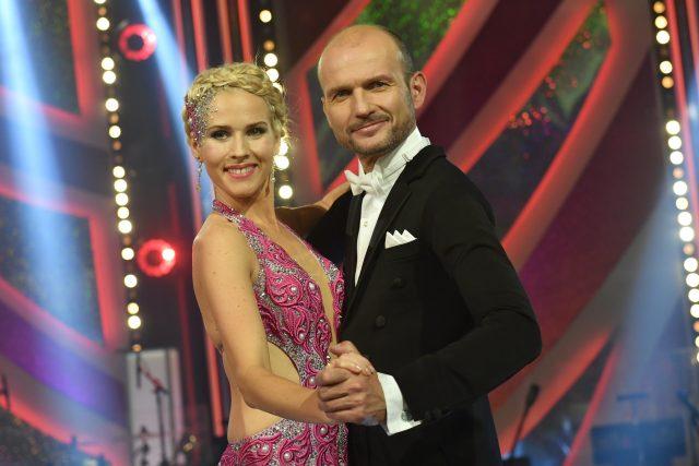 Alice Stodůlková a Dalibor Gondík v taneční soutěži StarDance