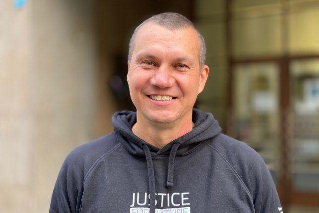Milan Jeglík   foto: Tomáš Černý,  Český rozhlas