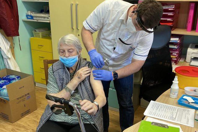 Očkování v zařízení Baculus, o.p.s. ve Vejprnicích