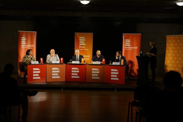 Rozděleni svobodou. Debata v Ostravě, 14.10. 2019