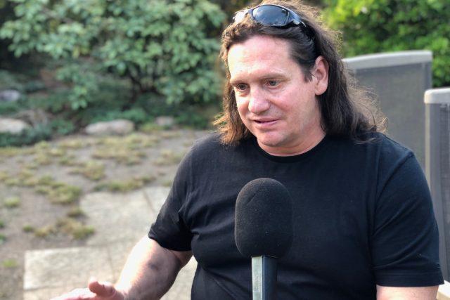 Jan Potměšil během rozhovoru s Lucií Výbornou