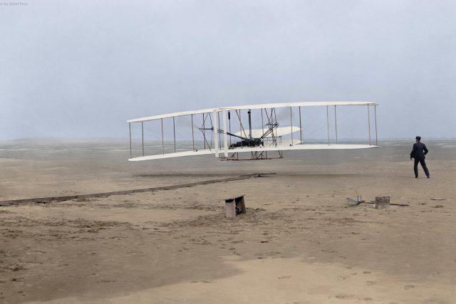 Let bratří Wrightů 17. prosince 1903