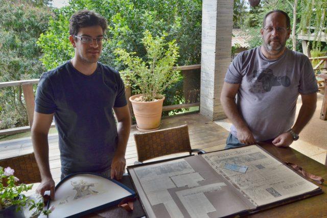 Dva potomci Joãa Nepomucského Kubitscheka po mužské linii, Pedro Diniz a jeho otec Lincoln