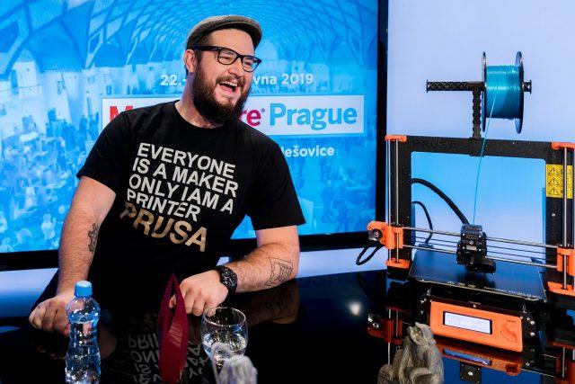 Josef Průša, konstruktér a prodejce 3D tiskáren
