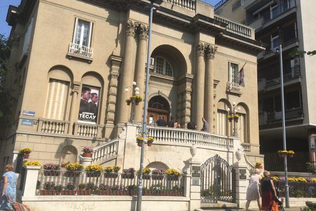 Muzeum Nikoly Tesly stojí v Bělehradě ve vile ze třicátých let dvacátého století