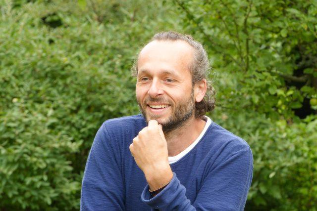 Michal Gorec, host pořadu Hovory