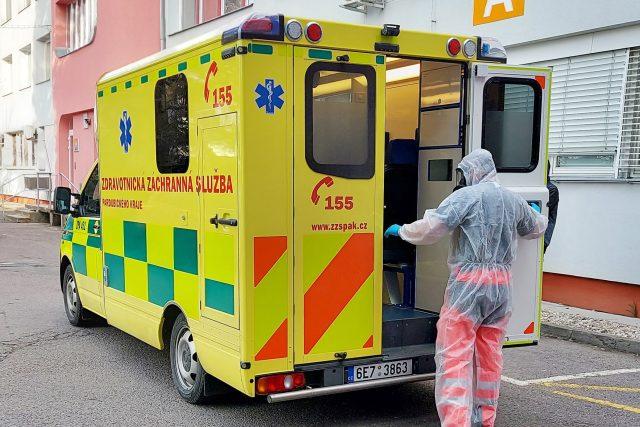 Převoz pacientky z Orlickoústecké nemocnice do Polska | foto: Nemocnice Pardubického kraje