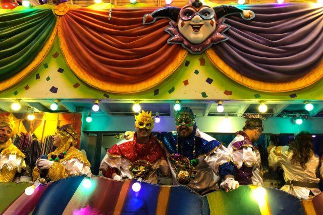 Karneval Mardi Gras v New Orleans