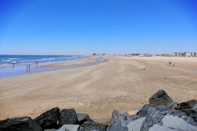 Pláž Punta Umbría nedaleko města Huelva u Atlantiku patří také rybářům | foto: Ľubica Zlochová,  Český rozhlas