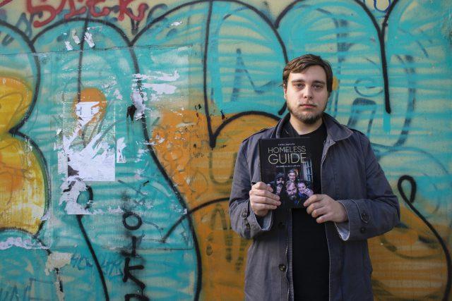 Tony Havlík, autor knihy Homeless Guide