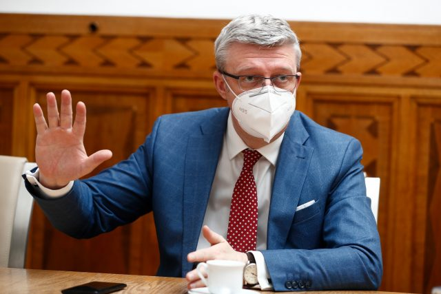 Místopředseda vlády Karel Havlíček