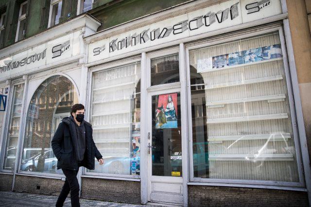 Zavřené knihkupectví