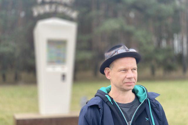 Krištof Kintera, autor public jukeboxu a dalších soch ve veřejném prostoru