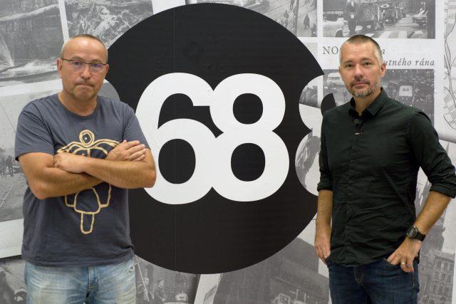 Speciální vysílání k 50. výročí od invaze moderují Jan Pokorný a Martin Veselovský
