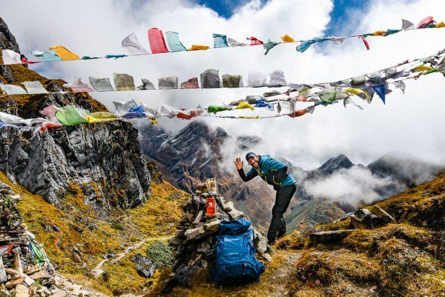 Jan Hocek a Snowman trek v Bhútánu