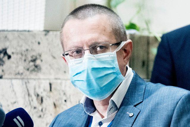 Šéf statistiků Ladislav Dušek