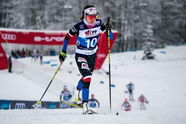 Běžkyně na lyžích Kateřina Razýmová má za sebou průlomovou sezonu
