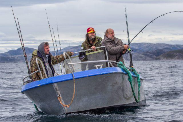 Snímek z dokumentární komedie Svéráz českého rybolovu   foto: Aerofilms