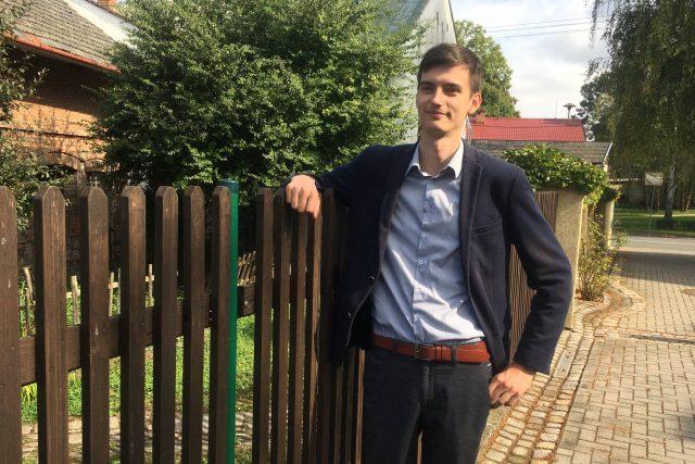 Jedenadvacetiletý starosta Tomáš Pavelka vede obec Mořice na Prostějovsku