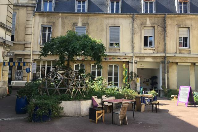 Les Grands Voisins v Paříži