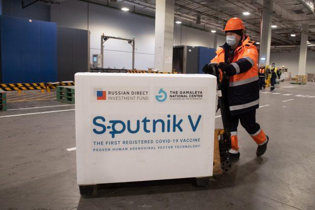Ruská vakcína Sputnik V | foto: Fotobanka Profimedia