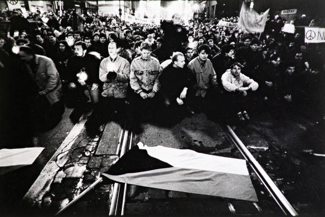 Sametová revoluce 1989 (Veletržní Palác)