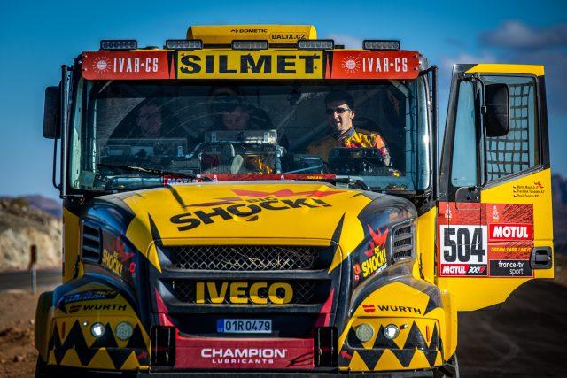 Martin Macík na Dakaru 2020 | foto: Archiv Martina Macíka a týmu Big Shock Racing